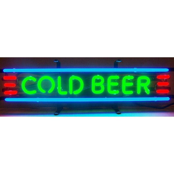 Neonetics Cold Beer Neon Sign 5Cldba Neon Signs