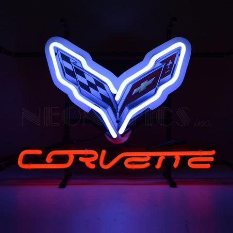 Neonetics Corvette C7 Junior Neon Sign 5Smlc7 Neon Signs