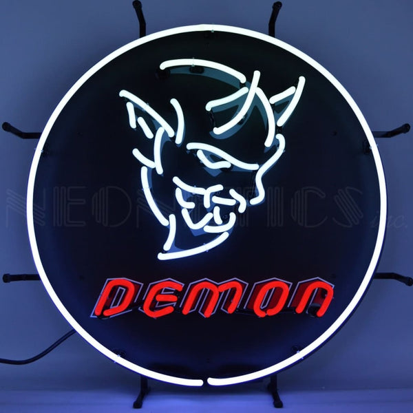 Neonetics Dodge Demon Neon Sign 5Demon Neon Signs