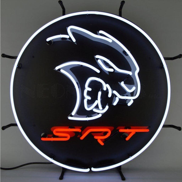 Neonetics Dodge Hellcat Srt Neon Sign 5Hellc Neon Signs