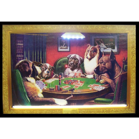 Neonetics Dogs Playing Poker Neon/led Picture 3Dogpk Neon Signs