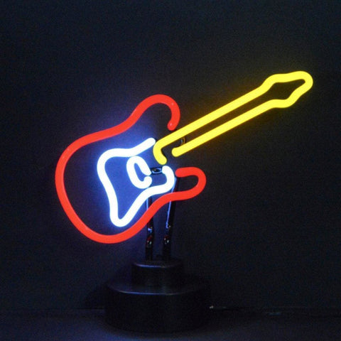 Neonetics Electric Guitar Neon Sculpture 4Elecg Neon Signs