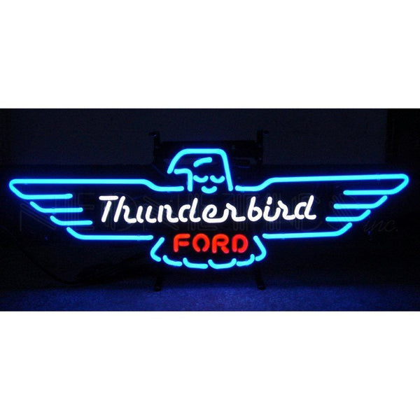 Neonetics Ford Thunderbird Neon Sign 5Thunder Neon Signs