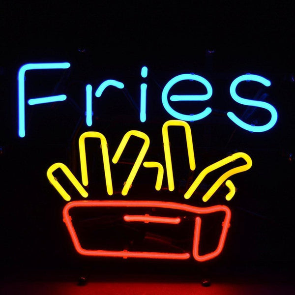 Neonetics Fries Neon Sign 5Fries Neon Signs