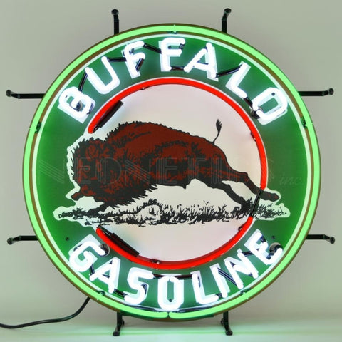 Neonetics Gas - Buffalo Gasoline Neon Sign 5Gsbuf Neon Signs