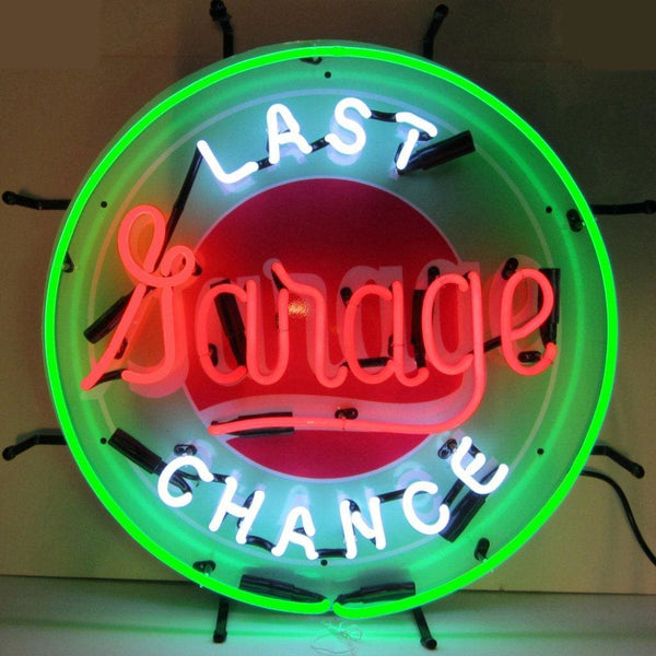 Neonetics Gas - Last Chance Garage Neon Sign 5Lastx Neon Signs