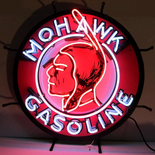 Neonetics Gas - Mohawk Gasoline Neon Sign 5Gsmoh Neon Signs