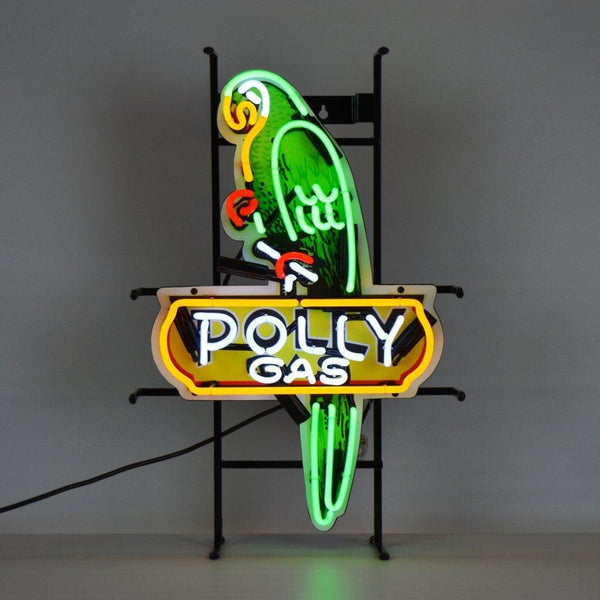 Neonetics Gas - Shaped Polly Gas Neon Sign With Backing 5Polly Neon Signs