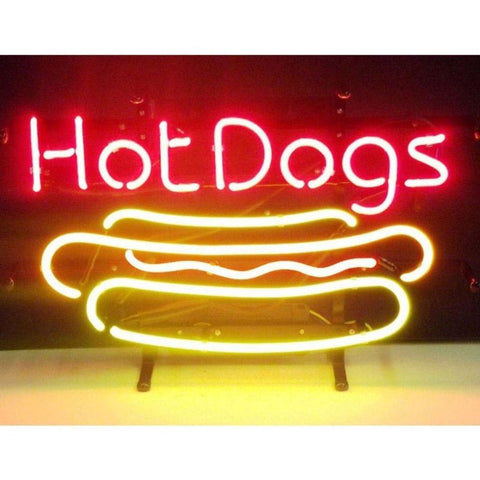Neonetics Hot Dog Neon Sign 5Hotdg Neon Signs