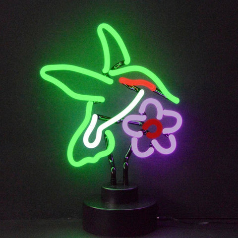 Neonetics Hummingbird Neon Sculpture 4Hummx Neon Signs