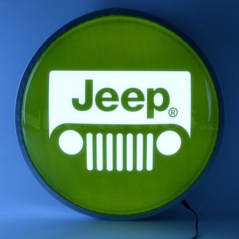 Neonetics Jeep 15 Inch Backlit Led Lighted Sign 7Jeepg Neon Signs