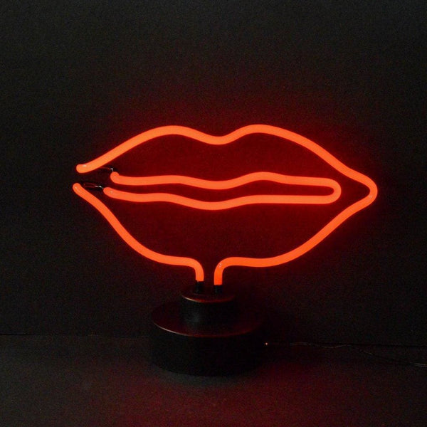 Neonetics Lips Neon Sculpture 4Lipsx Neon Signs