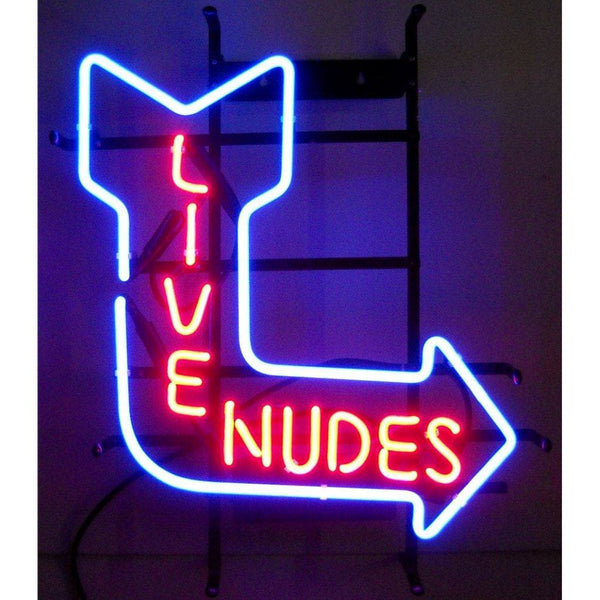 Neonetics Live Nudes Neon Sign 5Nude Neon Signs