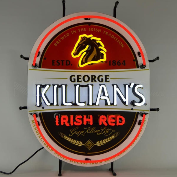 Neonetics Millercoors - Killians Irish Red Neon Sign 5Mckll Neon Signs