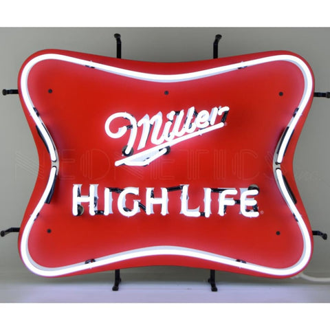 Neonetics Millercoors - Miller High Life Beer Neon Sign 5Mcmhl Neon Signs