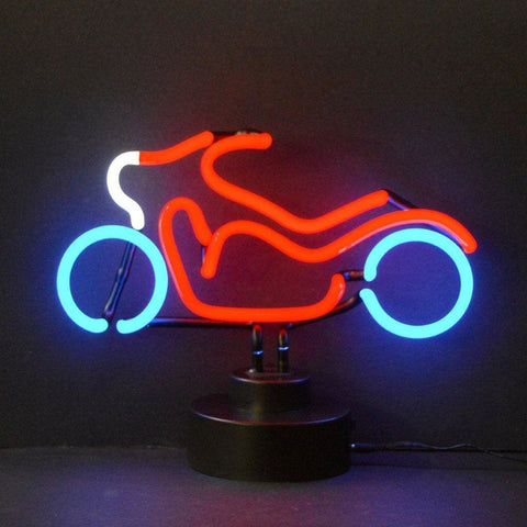Neonetics Motorcycle Neon Sculpture 4Motor Neon Signs