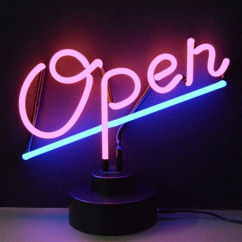 Neonetics Open Neon Sculpture 4Openx Neon Signs