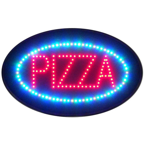 Neonetics Pizza Led Sign 5Pzled Neon Signs
