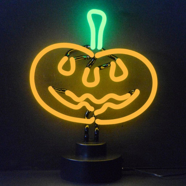 Neonetics Pumpkin Neon Sculpture 4Pumpk Neon Signs