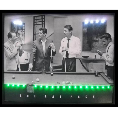 Neonetics Rat Pack Led Poster 3Ratpl Neon Signs