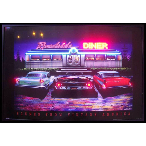 Neonetics Roadside Diner Neon/led Picture 3Rsdnl Neon Signs