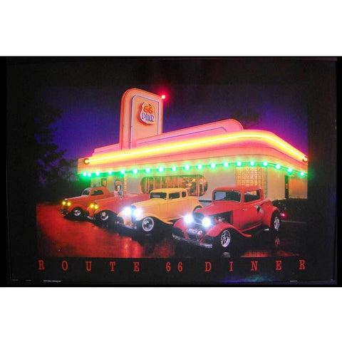 Neonetics Route 66 Diner Neon/led Picture 3R66Nl Neon Signs