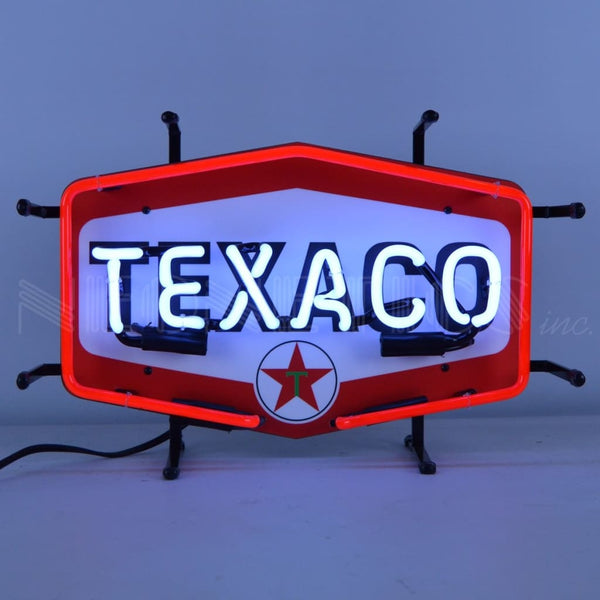 Neonetics Texaco Hexagon Junior Neon Sign 5Smltx Neon Signs