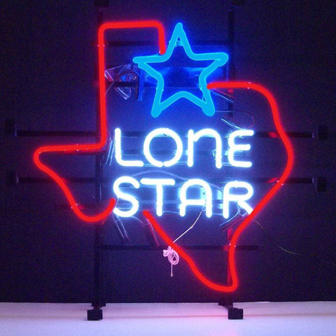 Neonetics Texas Lone Star Neon Sign 5Txstr Neon Signs