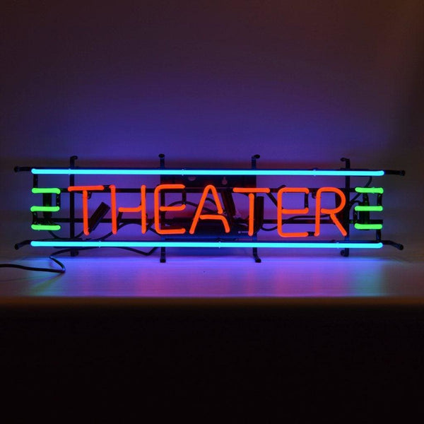 Neonetics Theater Red Green & Blue Neon Sign 5Thesm Neon Signs