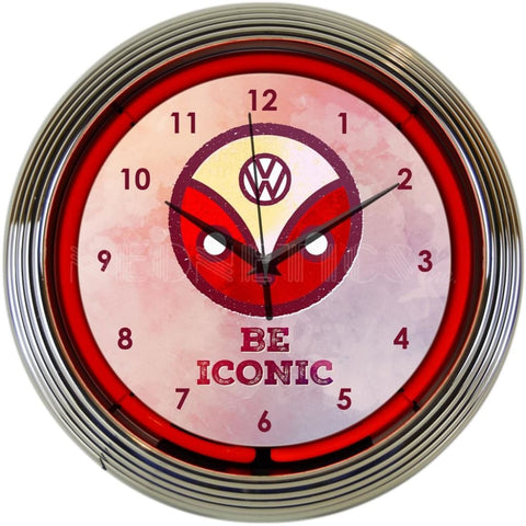 Neonetics Volkswagen Be Iconic Neon Clock 8Vwicn Neon Signs