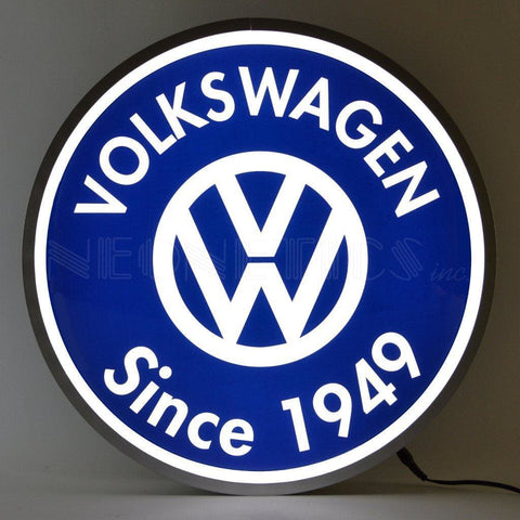 Neonetics Volkswagen Since 1949 Backlit 15 Inch Led Lighted Sign 7Vwsgn Neon Signs