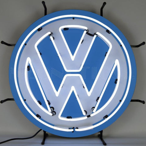 Neonetics Volkswagen Vw Round Neon Sign 5Vwsgn Neon Signs