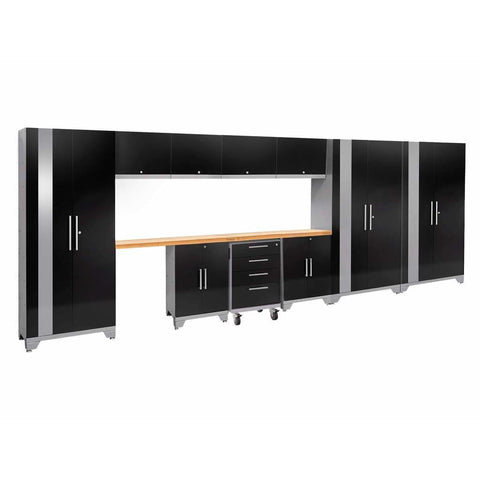 Newage Products Performance 2.0 Series 12 PC Set 55665 Garage Storage Cabinets Performance 2.0