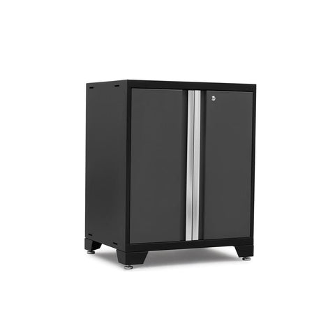 Newage Products Pro 3.0 Series 2-Door Base Cabinet 52002 Charcoal Gray Garage Storage Cabinets Pro 3.0