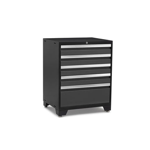 Newage Products Pro 3.0 Series 5-Drawer Tool Cabinet 52004 Charcoal Gray Garage Storage Cabinets Pro 3.0