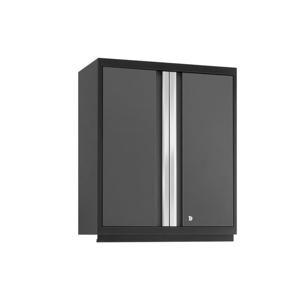 Newage Products Pro 3.0 Series Gray Tall Wall Cabinet 52015 Garage Storage Cabinets Pro 3.0
