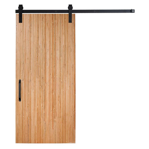 Rustica 3 ft. width x 7 ft. height Bryce Barn Door with Hardware Kit Rustica Barn Doors