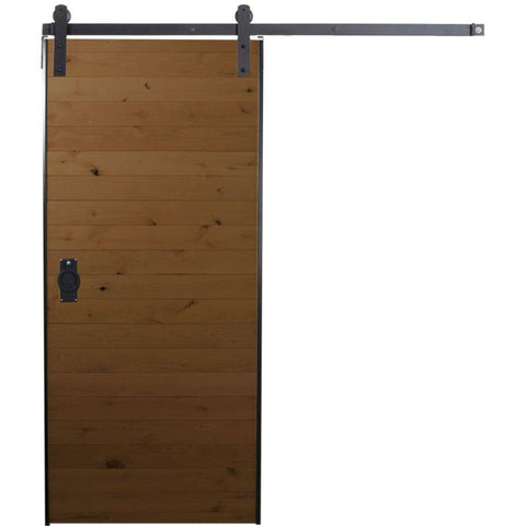 Rustica 3 ft. width x 7 ft. height Cottage Barn Door Kit with Hardware Kit Rustica Barn Doors