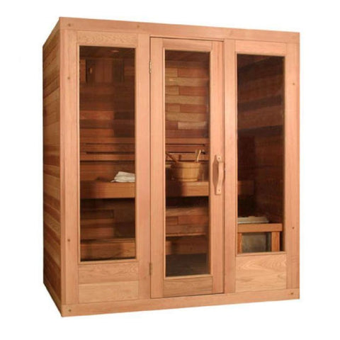 Saunacore Traditional Classic Model Sauna C5X7 Saunacore Traditional Saunas