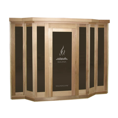 Saunacore Traditional VU Classic Model Sauna V5X7 None Saunacore Traditional Saunas