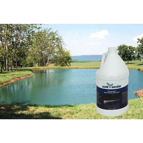 Scott Aerator Concentrated Water Clarifier - Flocculant 40150 Scott Aerator Weed Algae and Muck Control
