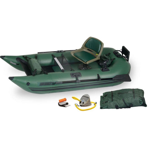 Sea Eagle 285 Frameless Pontoon Boat Inflatable Fishing Boat Pro Angler Package 285FPBK_P Sea Eagle Frameless Pontoon Boats