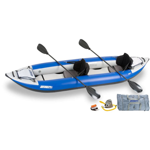 Sea Eagle 380x Explorer Inflatable Kayak Pro Carbon Package 380XK_PC Sea Eagle Explorer Kayaks