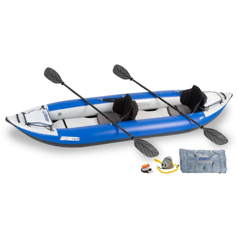 Sea Eagle 380x Explorer Inflatable Kayak Pro Kayak Package 380XK_P Sea Eagle Explorer Kayaks