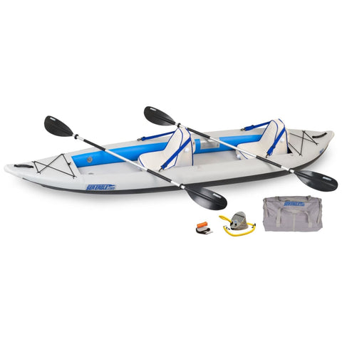 Sea Eagle 385ft FastTrack Inflatable Kayak Deluxe Package 385FTK_D Sea Eagle FastTrack Kayaks