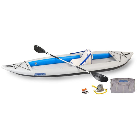 Sea Eagle 385ft FastTrack Inflatable Kayak Deluxe Solo Package 385FTK_DS Sea Eagle FastTrack Kayaks