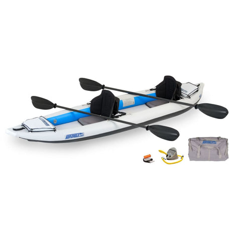 Sea Eagle 385ft FastTrack Inflatable Kayak Pro Carbon Package 385FTK_PC Sea Eagle FastTrack Kayaks