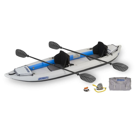 Sea Eagle 385ft FastTrack Inflatable Kayak Pro Kayak Package 385FTK_P Sea Eagle FastTrack Kayaks