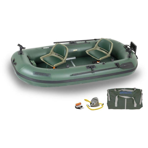 Sea Eagle Stealth Stalker 10 Inflatable Fishing Boat Pro Package STS10K_P Sea Eagle StealthStalker