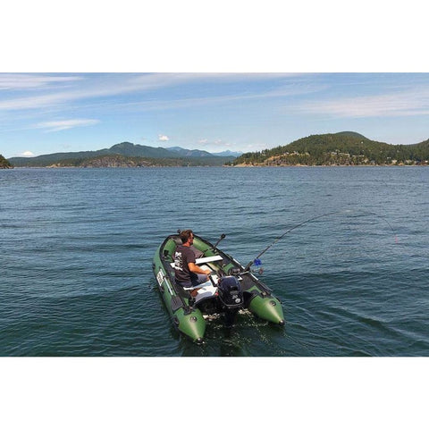 "Stryker PRO 320 (10' 5"") Inflatable Boat Hunter Green Stryker PRO Inflatable Boats"